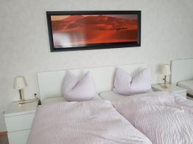 Blick in ein 3-Bett-Zimmer